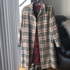 Burberry Jackets & Coats - Burberry vintage check coat